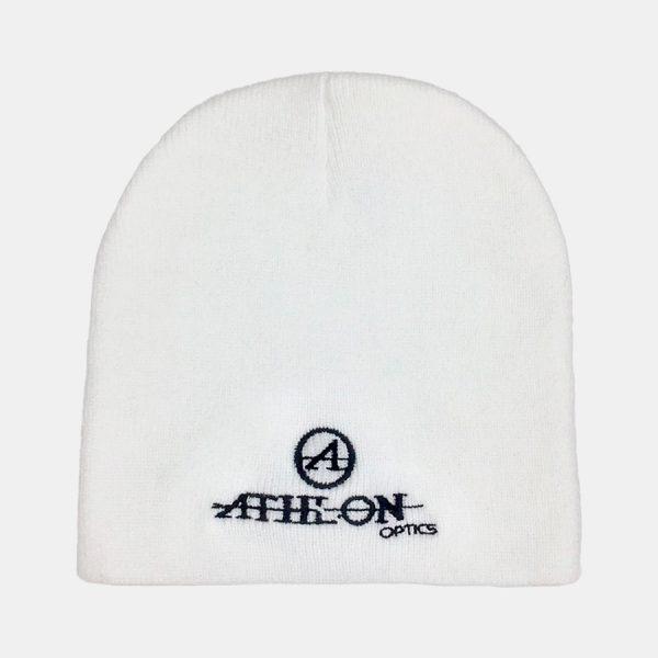 Athlon-Logo-Beanie-White