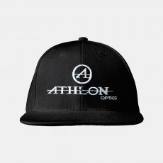 Athlon-Logo-Flatbill-Hat-Black