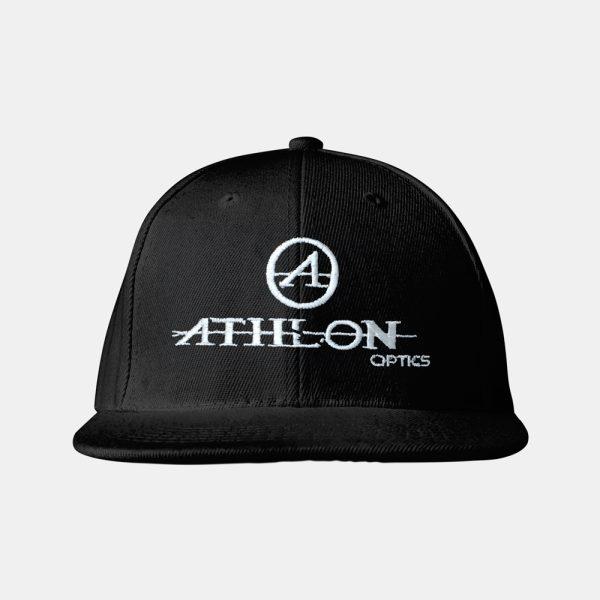 Athlon-Logo-Flatbill-Hat-Black