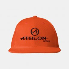 Athlon-Logo-Flatbill-Hat-Orange