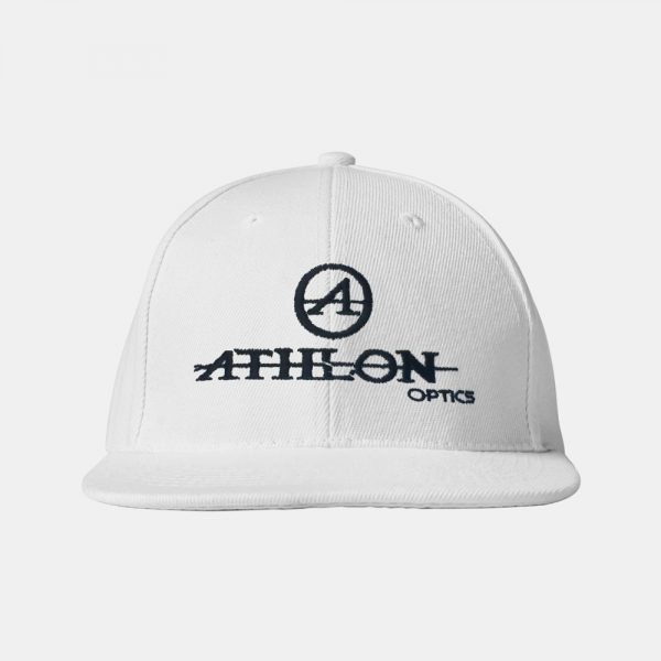 Athlon-Logo-Flatbill-Hat-White